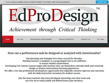 Tablet Preview of edprodesign.org